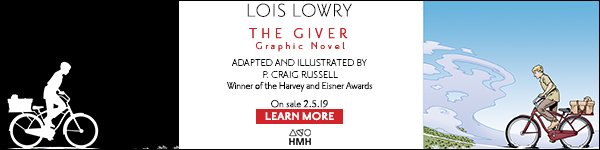 Houghton Mifflin: The Giver Graphic Novel by Lois Lowry, adapted and illustrated by P. Craig Russell