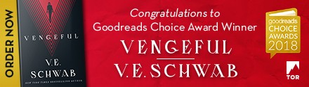 Tor Books: Vengeful (Villains #2) by V.E. Schwab