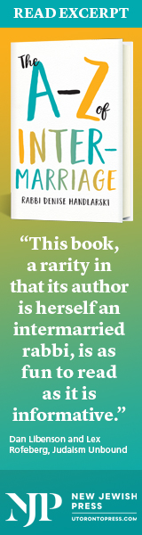 New Jewish Press: The A-Z of Intermarriage by Rabbi Denise Handlarski