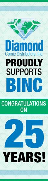 Diamond Comic Distributors, Inc.: Diamond proudly supports Binc! Congratulations on 25 years!
