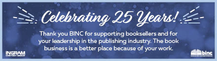 Ingram Content Group: Thank you BINC for supporting booksellers and for your leadership in the publishing industry!