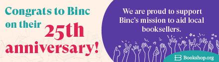 Bookshop.org: Congrats to Binc on their 25th anniversary!