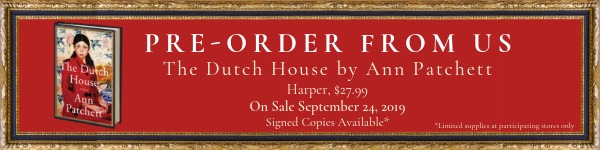 Harper: The Dutch House by Ann Patchett - Pre-order from us!