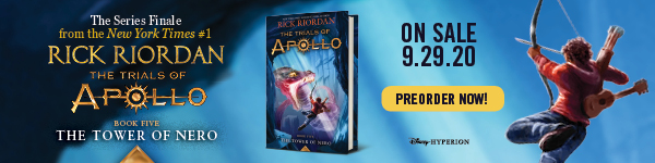 Disney-Hyperion: The Tower of Nero (Trials of Apollo #5) by Rick Riordan