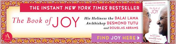 Avery Publishing Group: The Book of Joy by Dalai Lama, Desmond Tutu, and Douglas Carlton Abrams