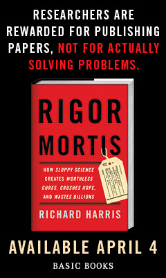 Basic Books: Rigor Mortis by Richard Harris