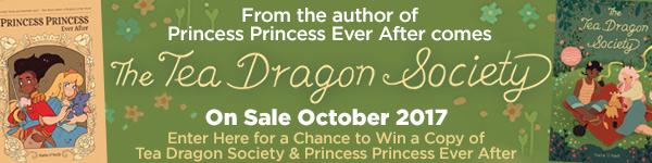 Oni Press: The Tea Dragon Society by Katie O'Neill