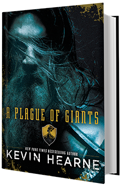Del Rey Books: A Plague of Giants (Seven Kennings #1) by Kevin Hearne
