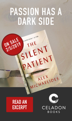Celadon Books: The Silent Patient by Alex Michaelides