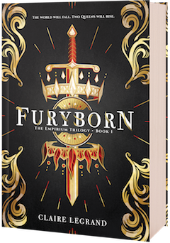 Sourcebooks Fire: Furyborn (Empirium Trilogy #1) by Claire Legrand