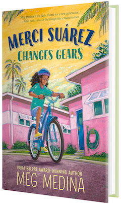 Candlewick Press: Merci Suárez Changes Gears by Meg Medina