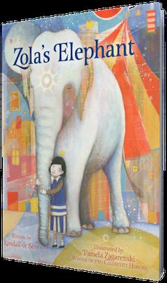 Houghton Mifflin: Zola's Elephant by Randall de Sève, illustrated by Pamela Zagarenski