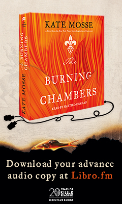 Minotaur Books: The Burning Chambers by Kate Mosse