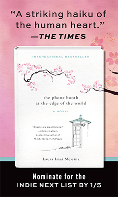 Overlook Press: The Phone Booth at the Edge of the World by Laura Imai Messina