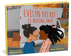 Candlewick Press: Evelyn del Rey Is Moving Away by Meg Medina, illustrated by Sonia Sanchez