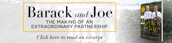 Hachette Books: Barack and Joe: The Making of an Extraordinary Partnership by Steven Levingston, foreword by Michael Eric Dyson