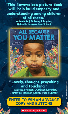 Orchard Books: All Because You Matter by Tami Charles, illustrated by Bryan Collier
