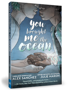 DC Comics: You Brought Me the Ocean by Alex Sanchez, illustrated by Julie Maroh