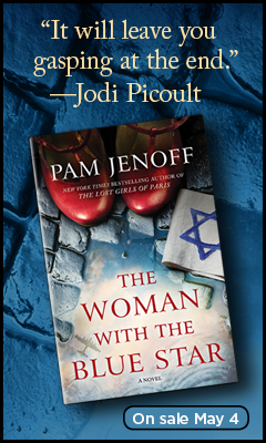 Park Row: The Woman with the Blue Star by Pam Jenoff