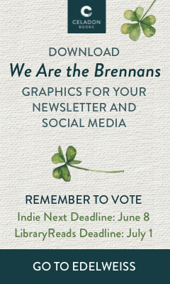 Celadon Books: We Are the Brennans by Tracey Lange
