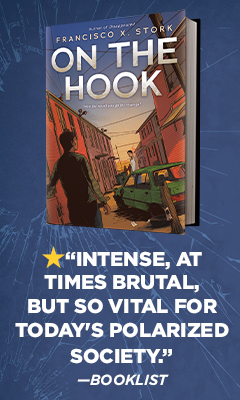 Scholastic Press: On the Hook by Francisco X Stork