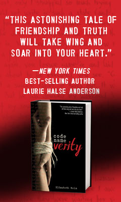 Hyperion Books: Code Name Verity by Elizabeth Wein