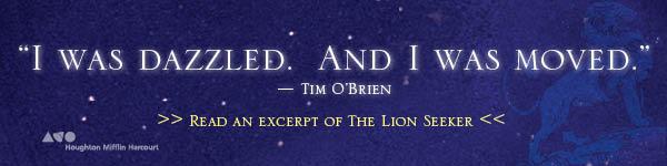 Houghton Mifflin Harcourt: The Lion Seeker by Kenneth Bonert
