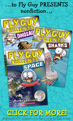 Scholastic: Fly Guy nonfiction by Tedd Arnold