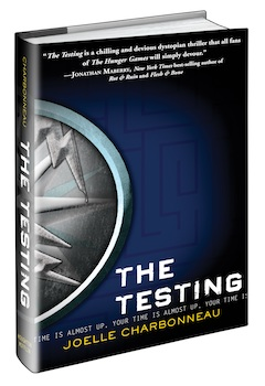 Houghton Mifflin Harcourt: The Testing by Joelle Charbonneau