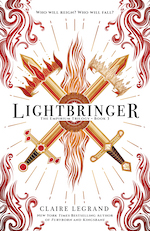Sourcebooks Fire: Lightbringer (Empirium Trilogy #3) by Claire Legrand