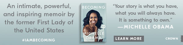 Crown Publishing Group: Becoming by Michelle Obama