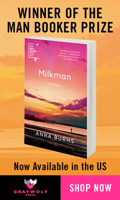 Graywolf Press: Milkman by Anna Burns