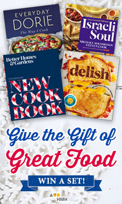 Houghton Mifflin: Give the Gift of Great Food - Win a set!