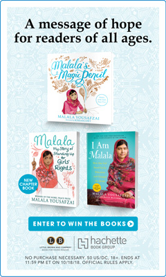 Little, Brown Books for Young Readers: Malala: My Story of Standing Up for Girls' Rights by Malala Yousafzai with Patricia McCormick