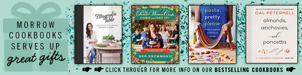Morrow Cookbooks serves up great gifts - Click through for more info on our bestselling cookbooks