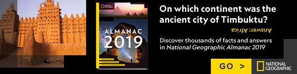 National Geographic Society: National Geographic Almanac 2019: Hot New Science - Incredible Photographs - Maps, Facts, Infographics & More by National Geographic