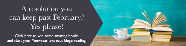 Harlequin: Click here to win some amazing books and start your #newyearnewreads binge reading!