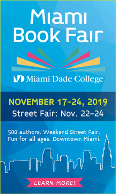 Miami Book Fair November 17-24, 2019 - Learn More