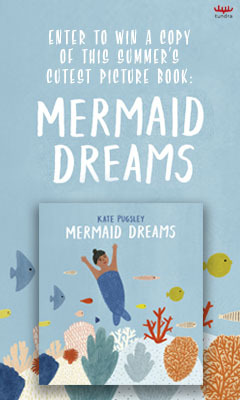 Tundra Books: Mermaid Dreams by Kate Pugsley