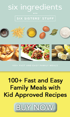 Shadow Mountain: Six Ingredients with Six Sisters' Stuff: 100+ Fast and Easy Family Meals by Six Sisters' Stuff