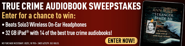 Simon & Schuster: True Crime Audiobook Sweepstakes - Enter Now