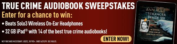 Simon & Schuster: True Crime Audiobook Sweepstakes - Enter Now