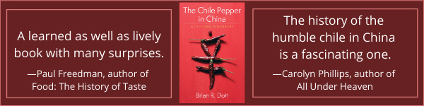 Columbia University Press: The Chile Pepper in China: A Cultural Biography bu Brian R. Dott