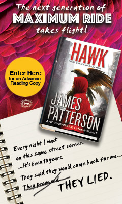 Jimmy Patterson: Hawk by James Patterson