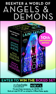 Little, Brown Books for Young Readers: Daughter of Smoke & Bone: The Complete Gift Set by Laini Taylor