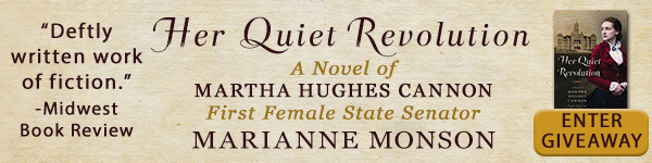 Shadow Mountain: Her Quiet Revolution: A Novel of Martha Hughes Cannon: Frontier Doctor and First Female State Senator by Marianne Monson