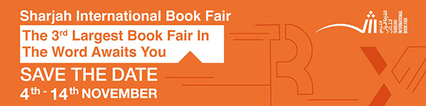 Sharjah International Book Fair November 4th-14th - Save the Date!