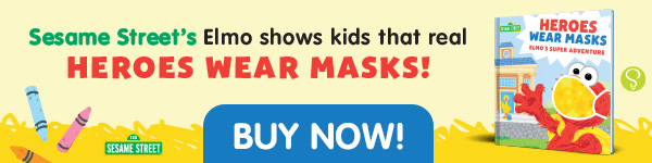Sourcebooks Wonderland: Heroes Wear Masks: Elmo's Super Adventure by Sesame Workshop