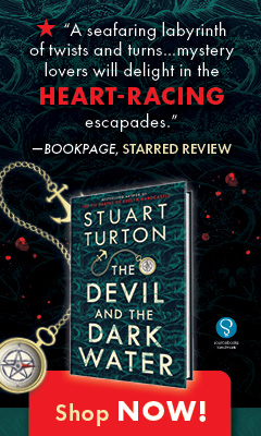 Sourcebooks Landmark: The Devil and the Dark Water by Stuart Turton