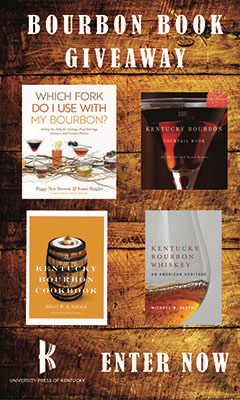 University Press of Kentucky: Bourbon Book Giveaway - Enter Now>